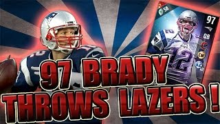 Download 97 OVR TOM BRADY THROWS LAZERS! - MADDEN NFL 17 ULTIMATE TEAM Video