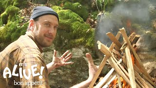 Download Brad Grills Steak on a Campfire | It's Alive with Brad | Bon Appétit Video