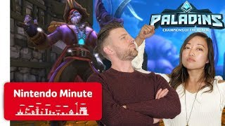 Download First Look at New Paladins Updates + Giveaway - Nintendo Minute Video