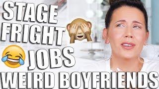 Download EMBARRASSING STORIES GRWM | Weird Boyfriends & First Jobs Video