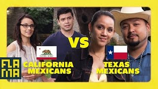 Download California Mexicans vs. Texas Mexicans Video