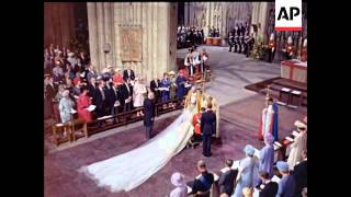 Download THE ROYAL WEDDING - COLOUR - NO SOUND Video