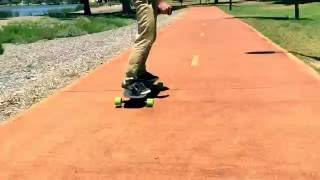 Download Lief Board and Evolve bamboo GT Cruise around Lake Monger Video