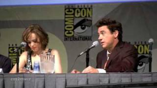 Download ROBERT DOWNEY JR Sherlock Holmes SD Comic Con '09 Part 3 of 3 Video