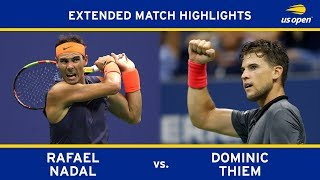 Download Rafael Nadal vs. Dominic Thiem | 2018 US Open, QF Video