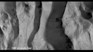 Download Fly Over Martian Chasms and Craters Through ExoMars Orbiter's Lens | Video Video