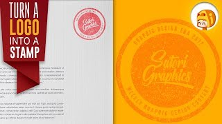 Download ADD A STAMP EFFECT TO YOUR LOGO IN ILLUSTRATOR | Satori Graphics Video