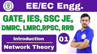 Download 6:00 PM | Electrical by Ramnivas Sir | Day #1 | Introduction of Network Theory Video