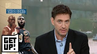 Download Mike Greenberg has some thoughts on the LeBron James-Michael Jordan debate | Get Up! | ESPN Video