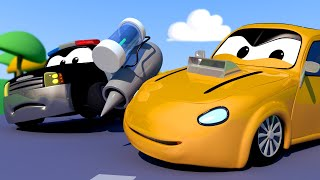 Download Tyler the TYKER stole some SPEED REACTORS! - Car Patrol of Car City Fire Truck Police Car Video