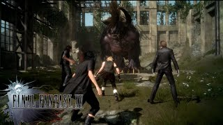 Download 【Final Fantasy XV : Episode Duscae】Behemoth Battle (Summon) Video