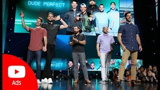 Download Brandcast 2019: Dude Perfect, YouTube Creator | YouTube Advertisers Video