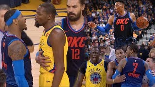 Download Russell Westbrook VS Kevin Durant ROUND 3!! Carmelo Wants SMOKE With Everyone! OKC vs GS! Video