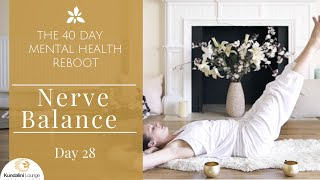 Download Calm Your Nerves - Yoga for Mental Health - Day 28 with Mariya Gancheva Video