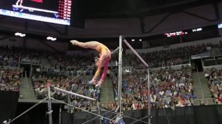 Download Rachel Gowey - Uneven Bars - 2016 P&G Gymnastics Championships – Sr. Women Day 2 Video