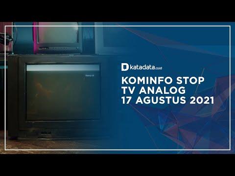 Siap-siap, Kominfo Bakal Matikan Siaran TV Analog Pada 17 Agustus 2021   Katadata Indonesia