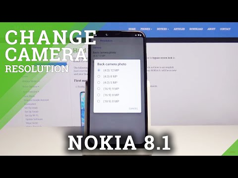 How to Change Photo Resolution in Nokia 8.1 – Image Quality
