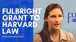 Download LLM at Harvard Law School: Sarah Panis Video