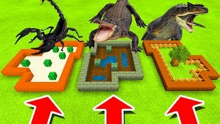 Download Minecraft PE : DO NOT CHOOSE THE WRONG FARM! (Scorpion, Alligator & Allosaurus) Video