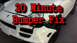 Download Automotive Collision Repairs-How To Fix A Wrecked Bumper Cover In 20 Minutes Video