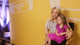 Download CLAIRE MEETS MISS AMERICA AND SINGS FOR CHILDREN'S HOSPITAL Video