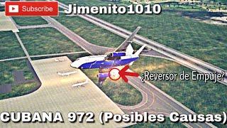 Download TRAGEDIA CUBANA 972 😔 (Reconstrucción) ¿Reversor de Empuje? Bueno Video