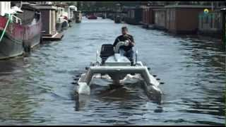 Download Motor catamaran Amsterdam Video