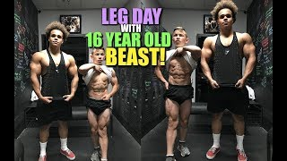 Download TRAINING LEGS WITH TRISTYN LEE!   Diet Tips for Shredding Video
