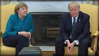 Download OH MY GOD. DONALD TRUMP JUST GAVE ANGELA MERKEL A GIFT THAT'LL HAVE HER HOWLING! Video