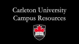 Download Carleton University Campus Resources Video