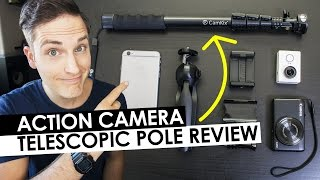 Download Action Camera Accessories - Camkix Premium 3in1 Telescopic Pole Review Video