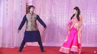 Download Wedding dance performance by Abhavya & Prateek Video