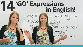 Download Learn 14 GO Expressions in English Video