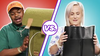Download Men and Women Compare What's In Their Bags • Part 2 Video