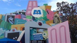 Download 2017 Monsters Inc. DARK RIDE in 4K ULTRA HD, Disney California Adventure, Disneyland Video
