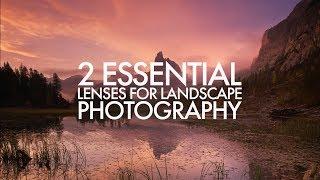 Download 2 Essential Lenses for Landscape Photography Video
