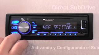 Download Direct SubDrive en MVH X375BT de Pioneer Video