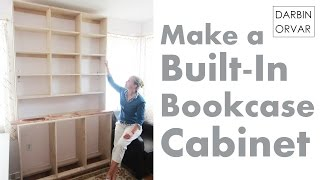 Download Built-In Bookcases & Cabinet Construction Video