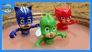 Download PJ MASKS toys into the water. The rescue mission begins! Video