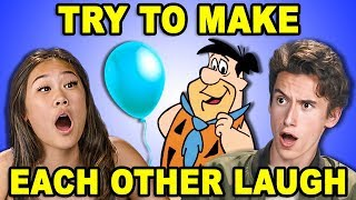 Download Try To Make Each Other Laugh Challenge #4 (React) Video