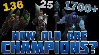 Download How Old Are Champions According to the Lore? Video