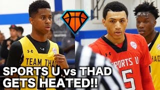 Download Jahvon Quinerly DOMINATES Crunch Time in the 4th Quarter!! | INTENSE SportsU vs Thad Highlights Video