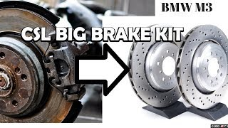 Download Installing CSL Brakes on an Ordinary M3! (Shocking) Video