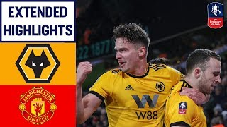Download Dominant Wolves' Display Sends United Out! | Wolves 2-1 Manchester United | Emirates FA Cup 18/19 Video