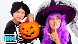 Download Vlad dan Nikita memainkan Trick or Treat Halloween Video