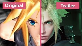 Download Final Fantasy VII – Original (PS4) vs. Remake Trailer Comparison Video