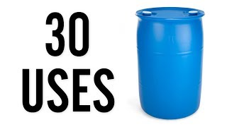 Download 30 Amazing Uses for Plastic 55 Gallon Drums Video