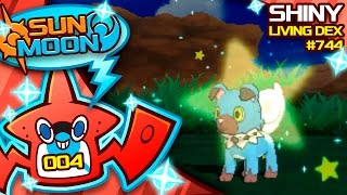 Download INSANE LUCK SHINY ROCKRUFF! Quest For Shiny Living Dex #744 | Pokemon Sun and Moon Shiny #4 Video