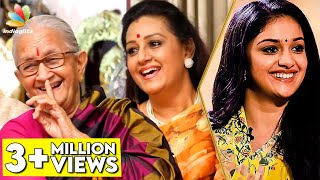 Download HILARIOUS : First Night Scene of DhaDha 87   Keerthy's Paati and Menaka Suresh Interview   Savitri Video