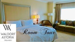 Download Waldorf Astoria Orlando Deluxe King Room Tour | Walt Disney World Video